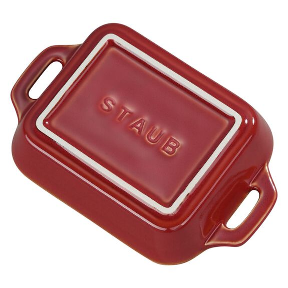 Ceramic Special shape bakeware, Red,,large 3