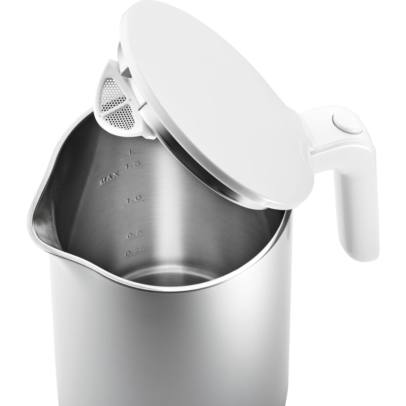 Electric kettle, Plastic | Silver | US/CA,,large 2