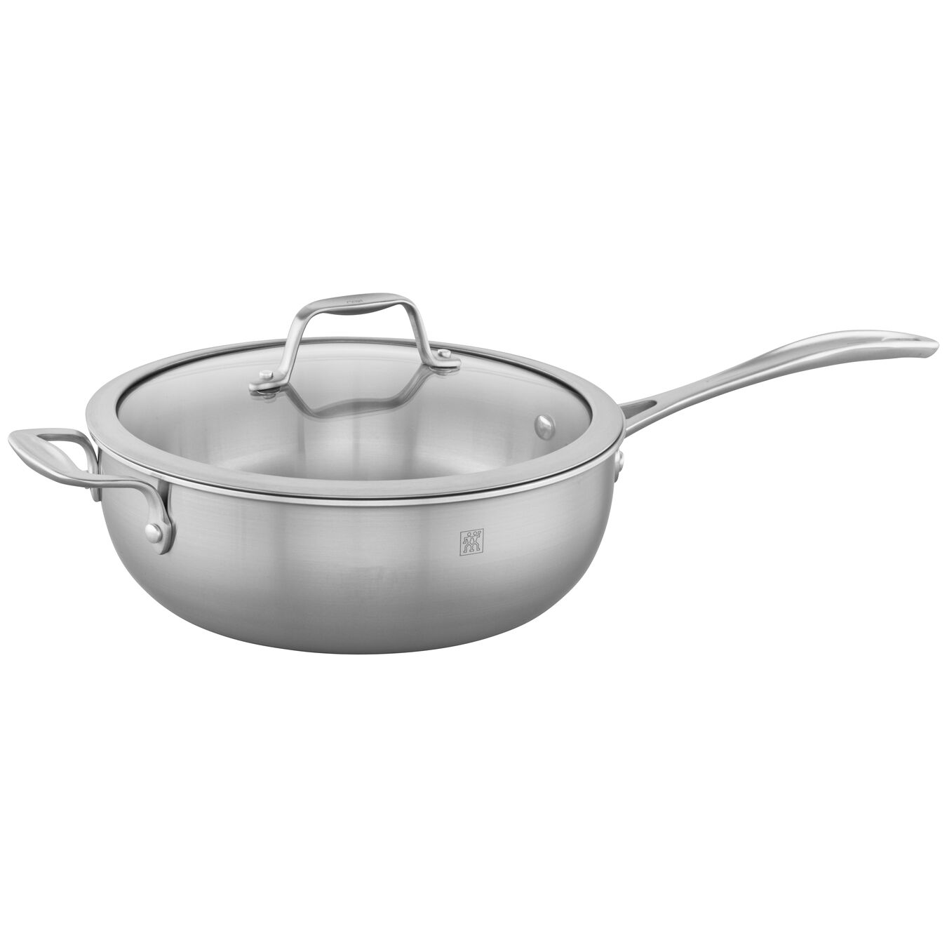 3-ply 4.6-qt Stainless Steel Perfect Pan,,large 1