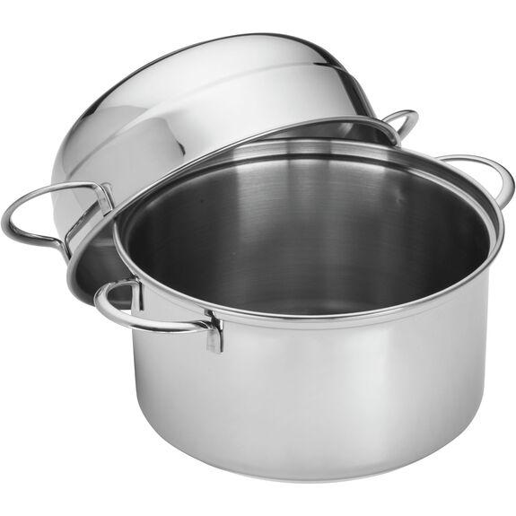 round  Mussel pot, (no colour),,large 3