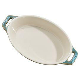 Staub Ceramics,  Ceramic Special shape bakeware, Rustic Turquoise