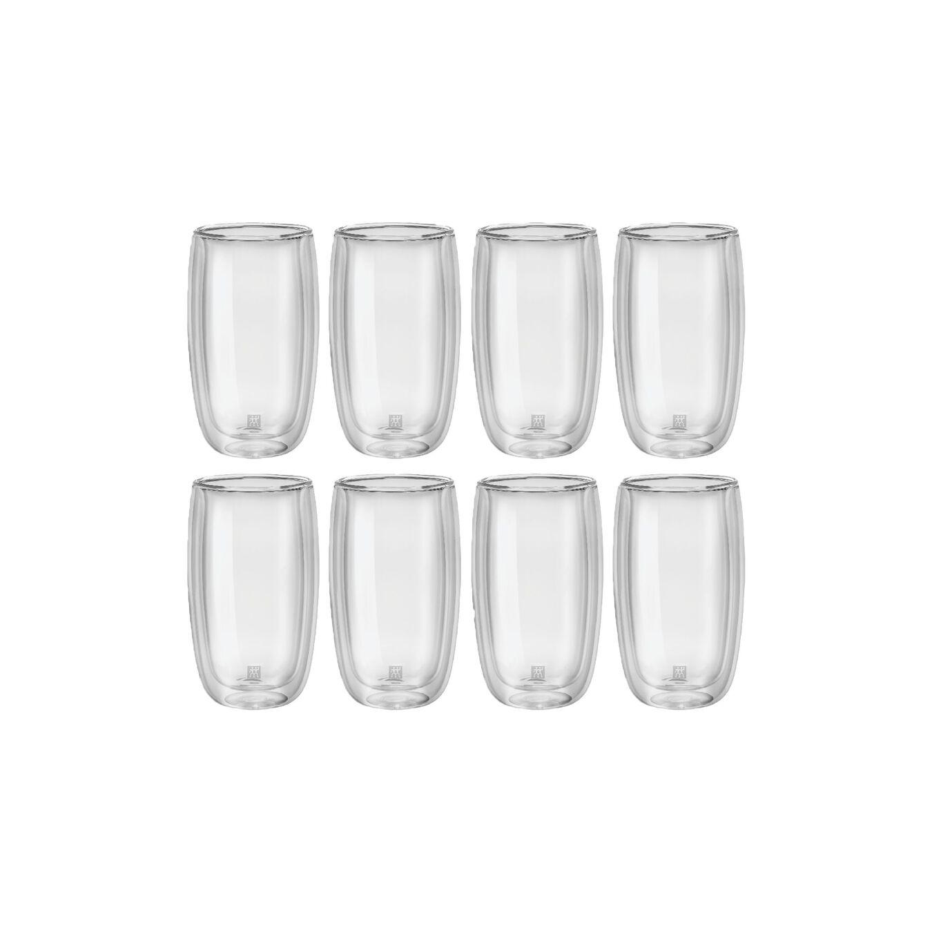 8 Piece Latte Glass Set - Value Pack,,large 2