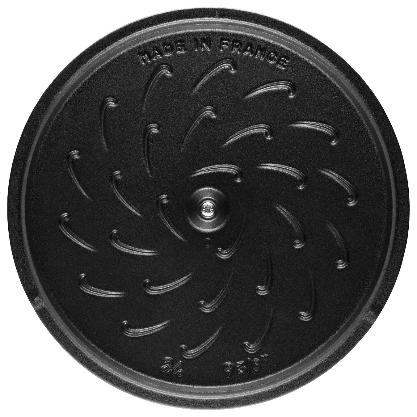 Schmorpfanne 24 cm, Gusseisen,,large 2
