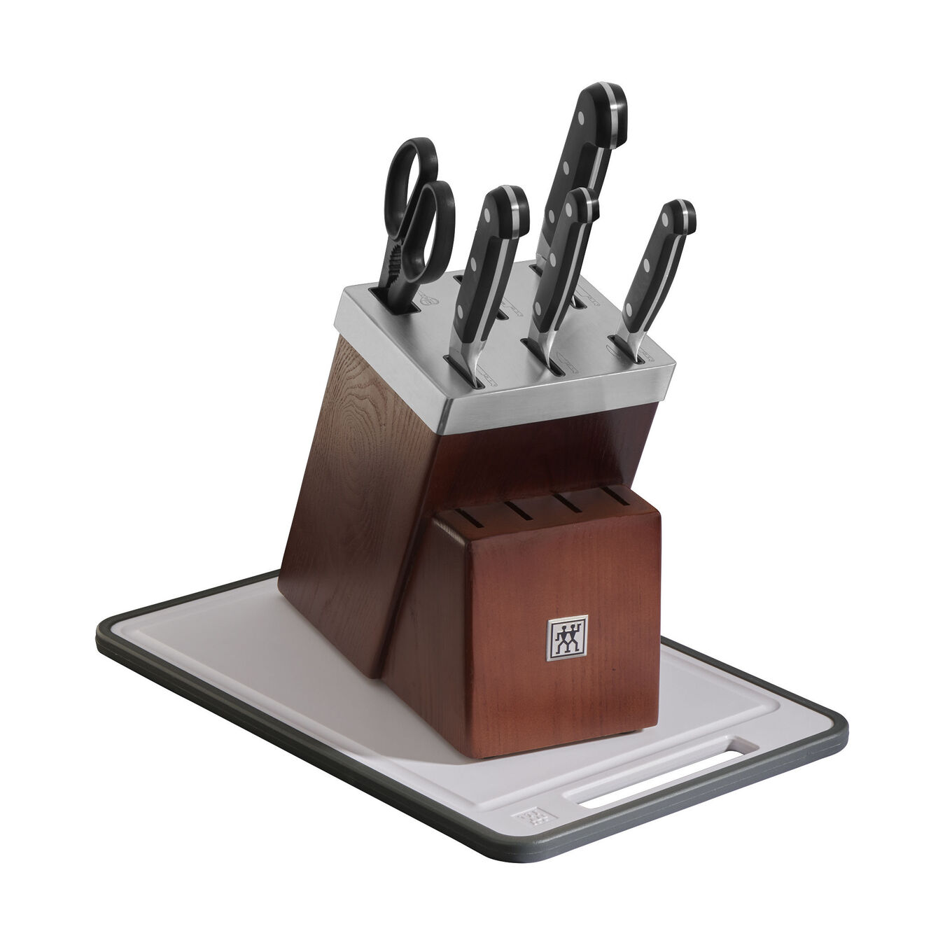7-pc Self-Sharpening Knife Block Set,,large 1