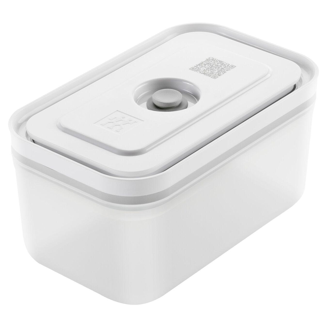 Vacuum Container, medium, Plastic, White,,large 1