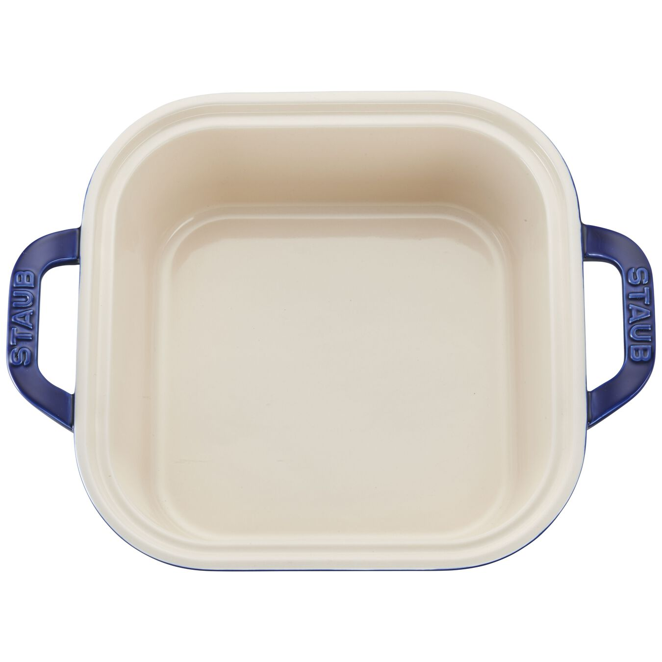9-inch X 9-inch Square Covered Baking Dish - Dark Blue,,large 6