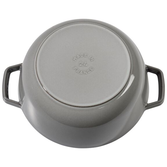 3.75-qt round French oven, Graphite Grey,,large 2