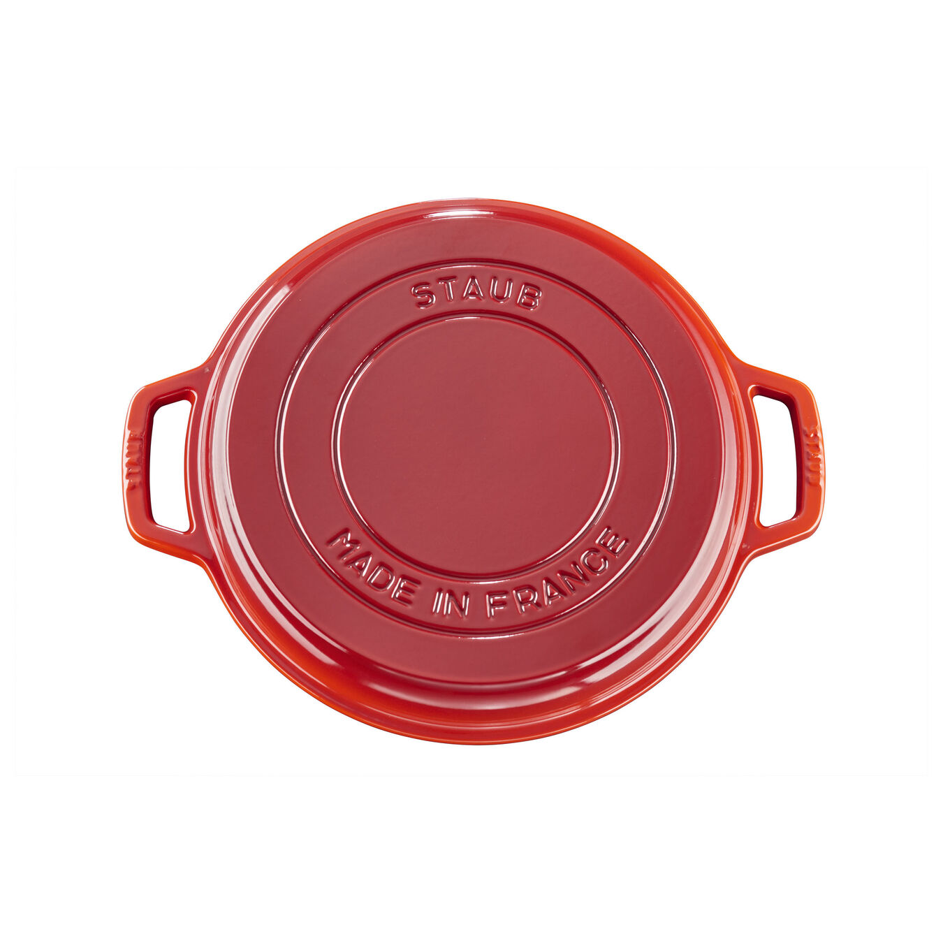6.5 qt, round, Cocotte, cherry - Visual Imperfections,,large 6