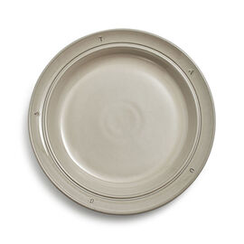Staub Boussole, 9.5-inch, Plate, graphite grey