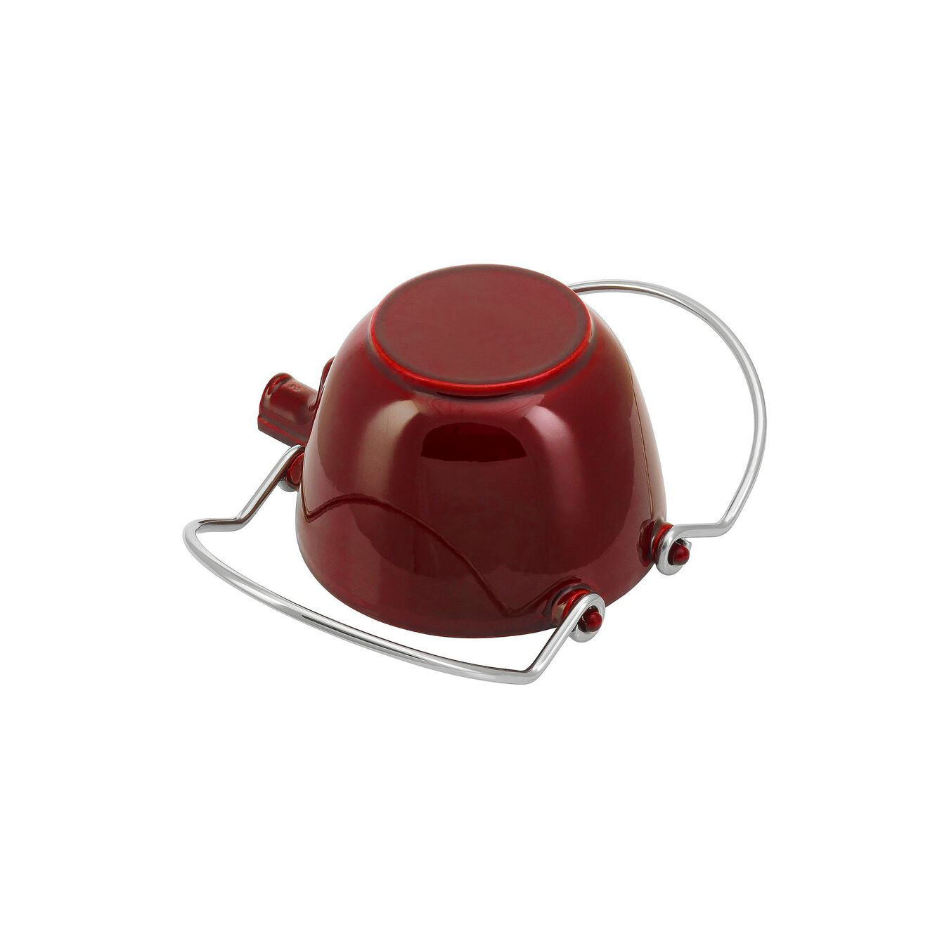 1-qt Round Tea Kettle - Grenadine,,large 6