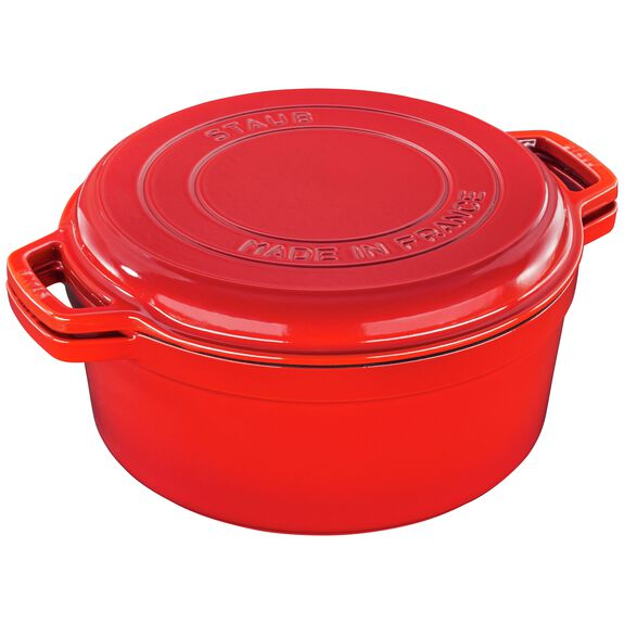 11-inch round Braise + Grill, Cherry,,large 5