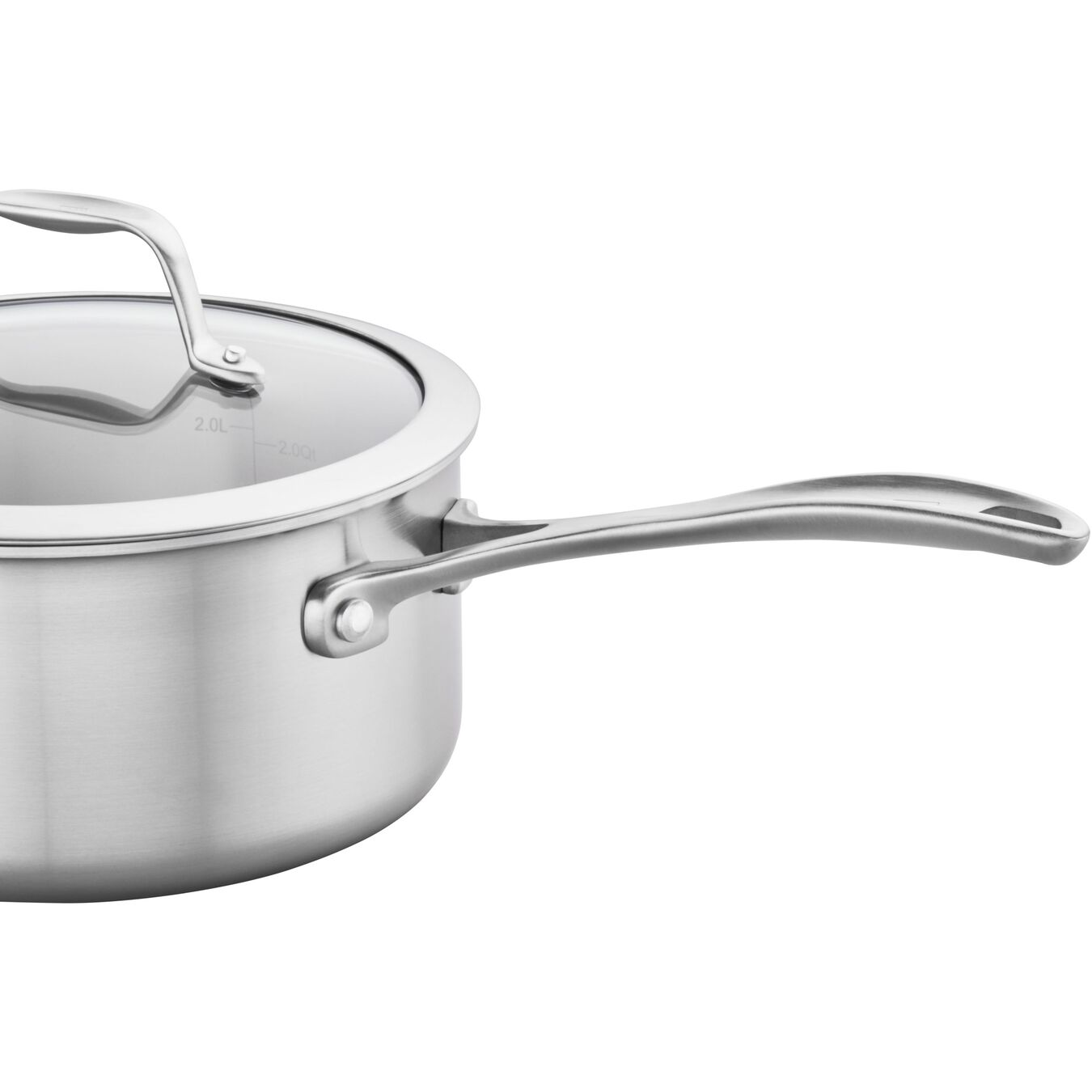 3 qt, 18/10 Stainless Steel, Non-stick, Sauce pan,,large 3