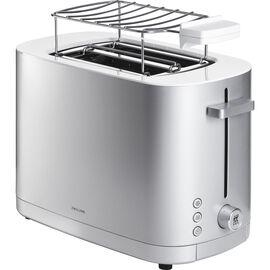 ZWILLING Enfinigy, Toaster mit Brötchenaufsatz, 2 Schlitze kurz, Silber