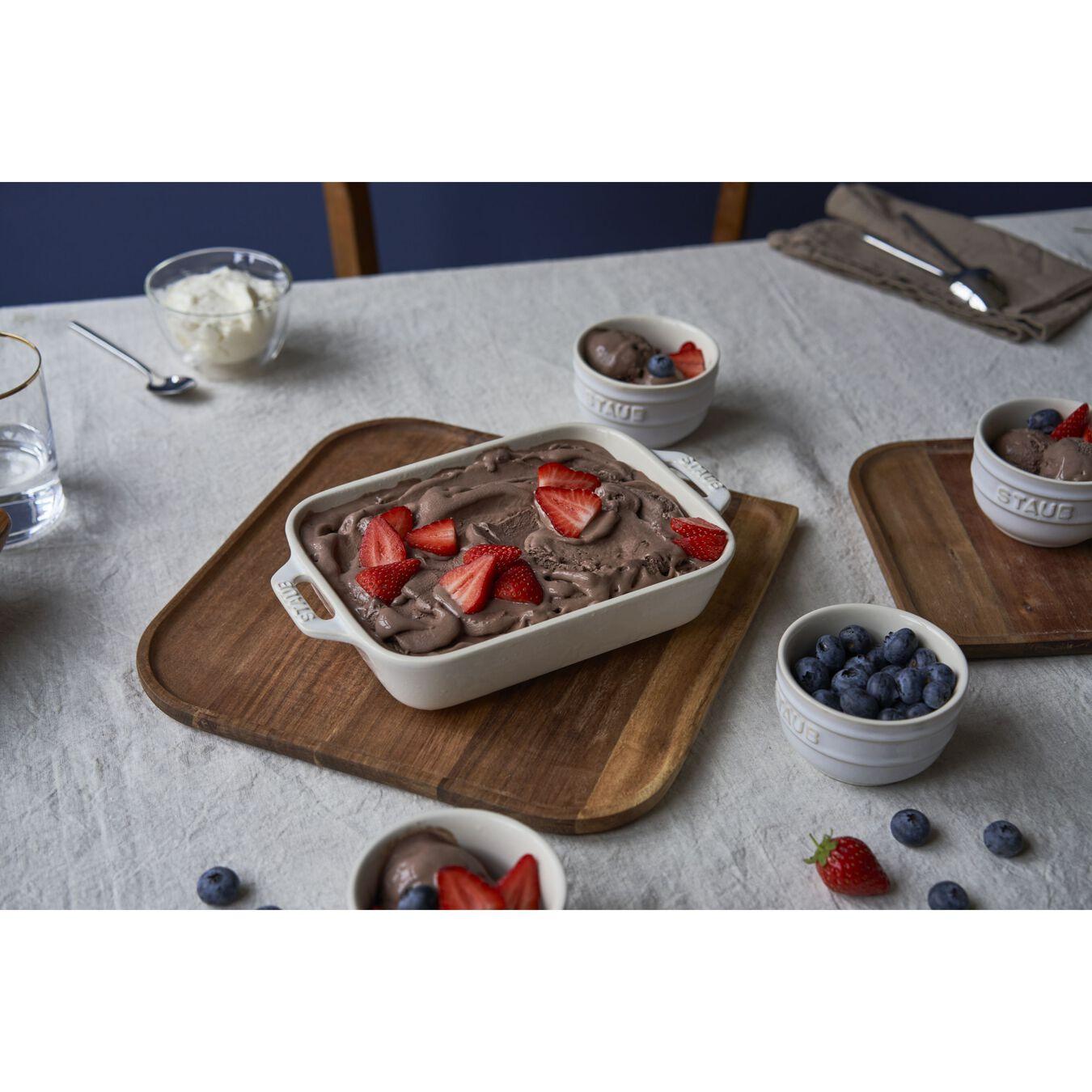 2-pc, Rectangular Baking Dish Set, ivory-white,,large 5