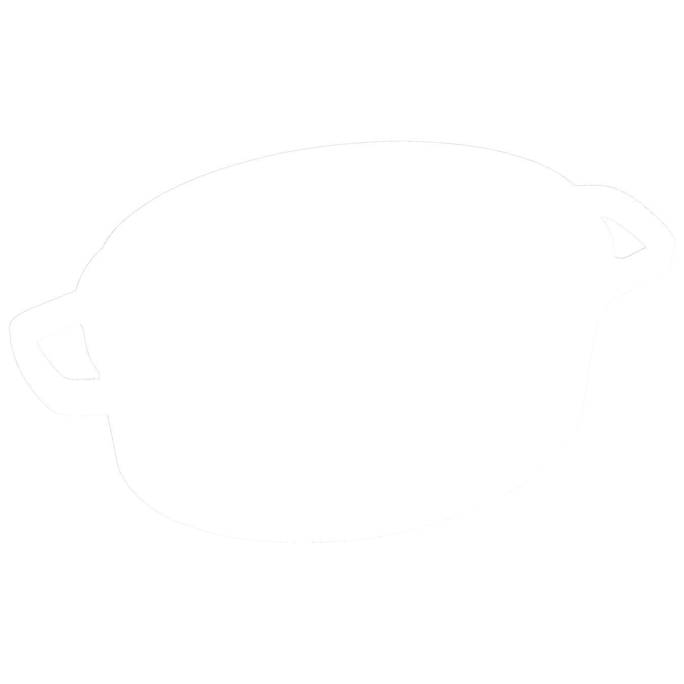 Cocotte 29 cm, Ovale, Cannelle, Fonte,,large 6