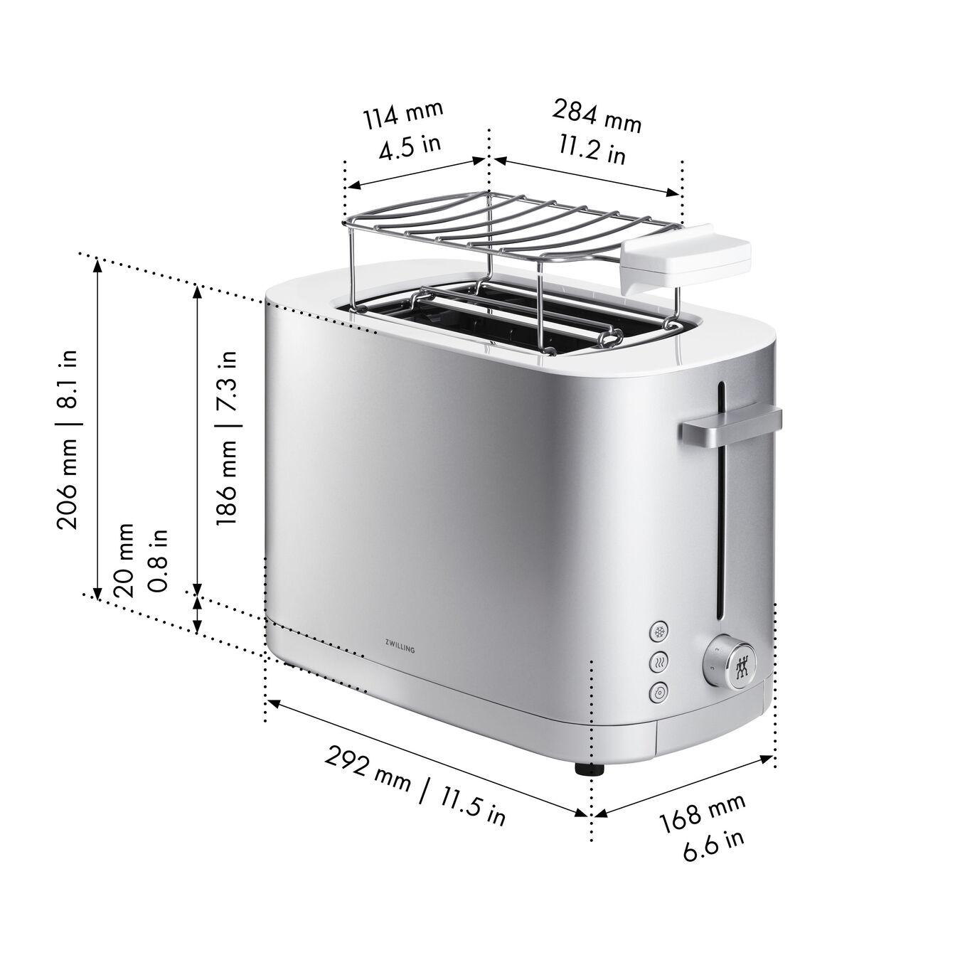 Ekmek Kızartma Makinesi çörek ısıtıcılı | 2 yuva 2 dilim,,large 9