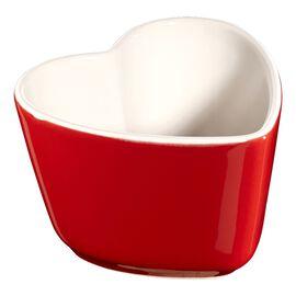 Staub Ceramics, 2-pc Heart Shaped Ramekin Set - Cherry