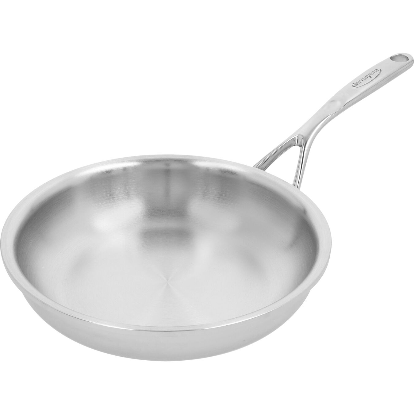 9.5-inch, 18/10 Stainless Steel, Frying pan,,large 4