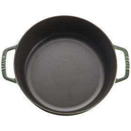 Staub Cast Iron, 6-qt round Cocotte, Basil