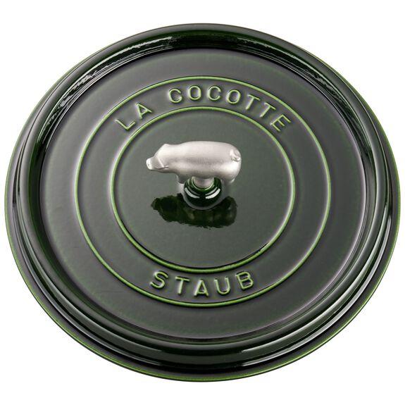 6-qt round Cocotte, Basil,,large