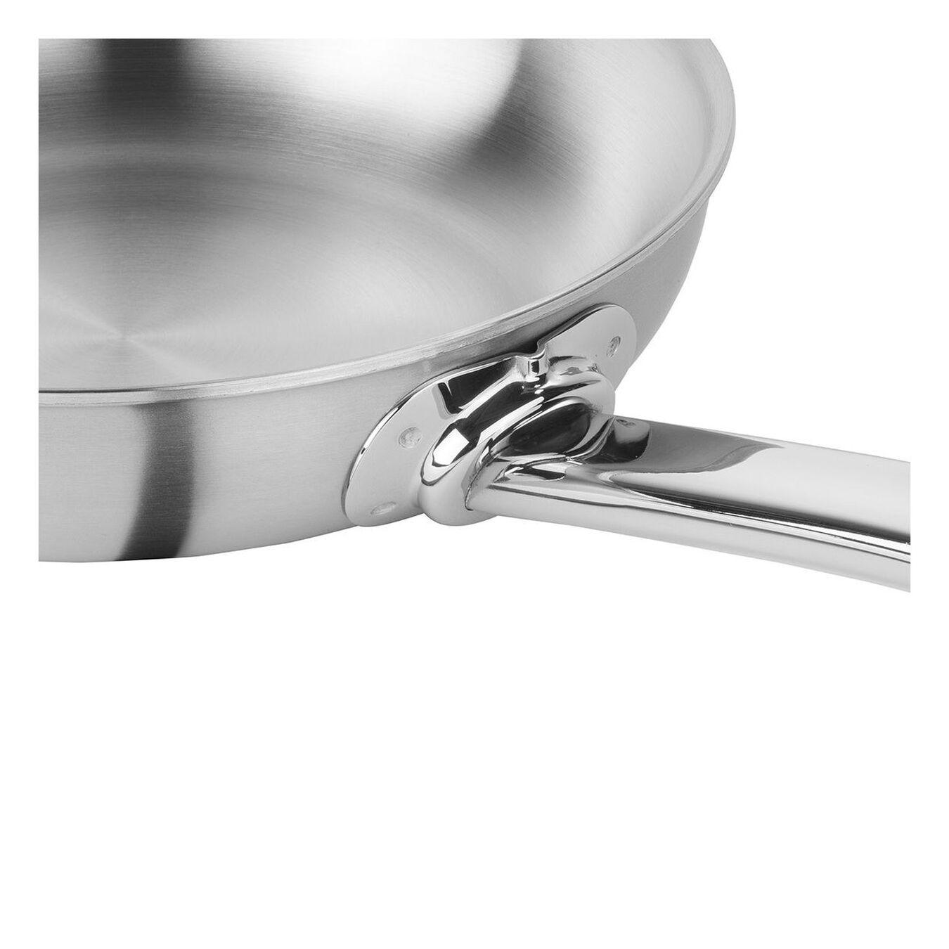 Bratpfanne 20 cm, 18/10 Edelstahl, Silber,,large 3