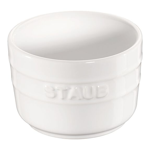2-pc Round Ramekin Set - White,,large