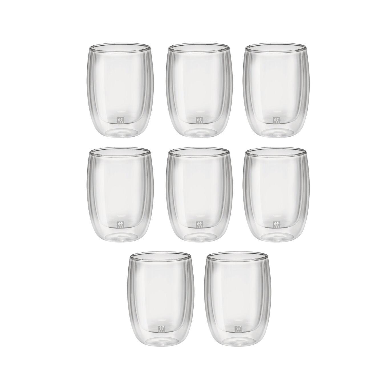 8 Piece Coffee glass set - Buy 6 Get 8,,large 1