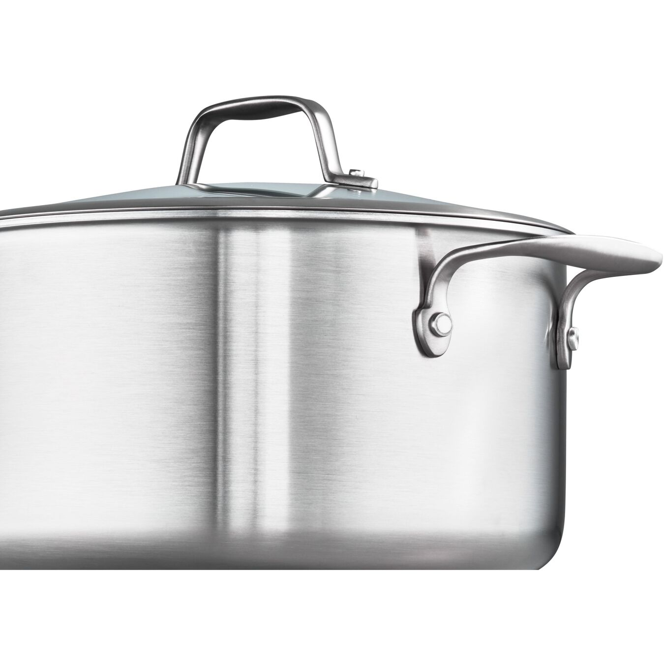 3-ply 7-pc Stainless Steel Ceramic Nonstick Cookware Set,,large 5