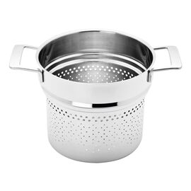 Demeyere Industry 5-Ply, 8-qt Stainless Steel Pasta Insert (Fits 8-qt Stock Pot)