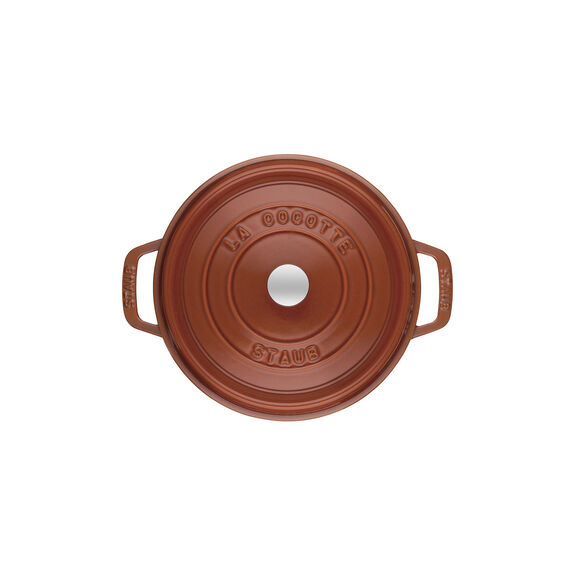 2.75-qt Round Cocotte - Burnt Orange,,large 2
