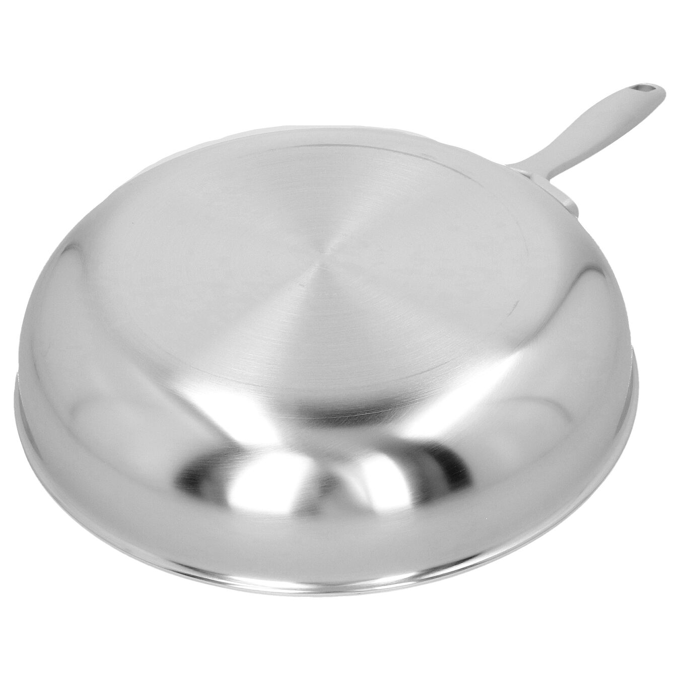 Poêle 24 cm, Inox 18/10, Argent,,large 4