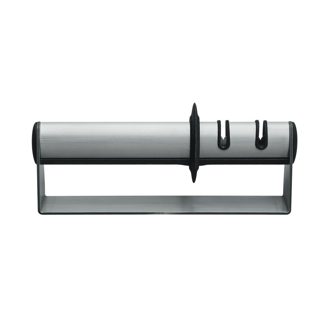 Knife sharpener, 19 cm | silver | stainless steel,,large 1