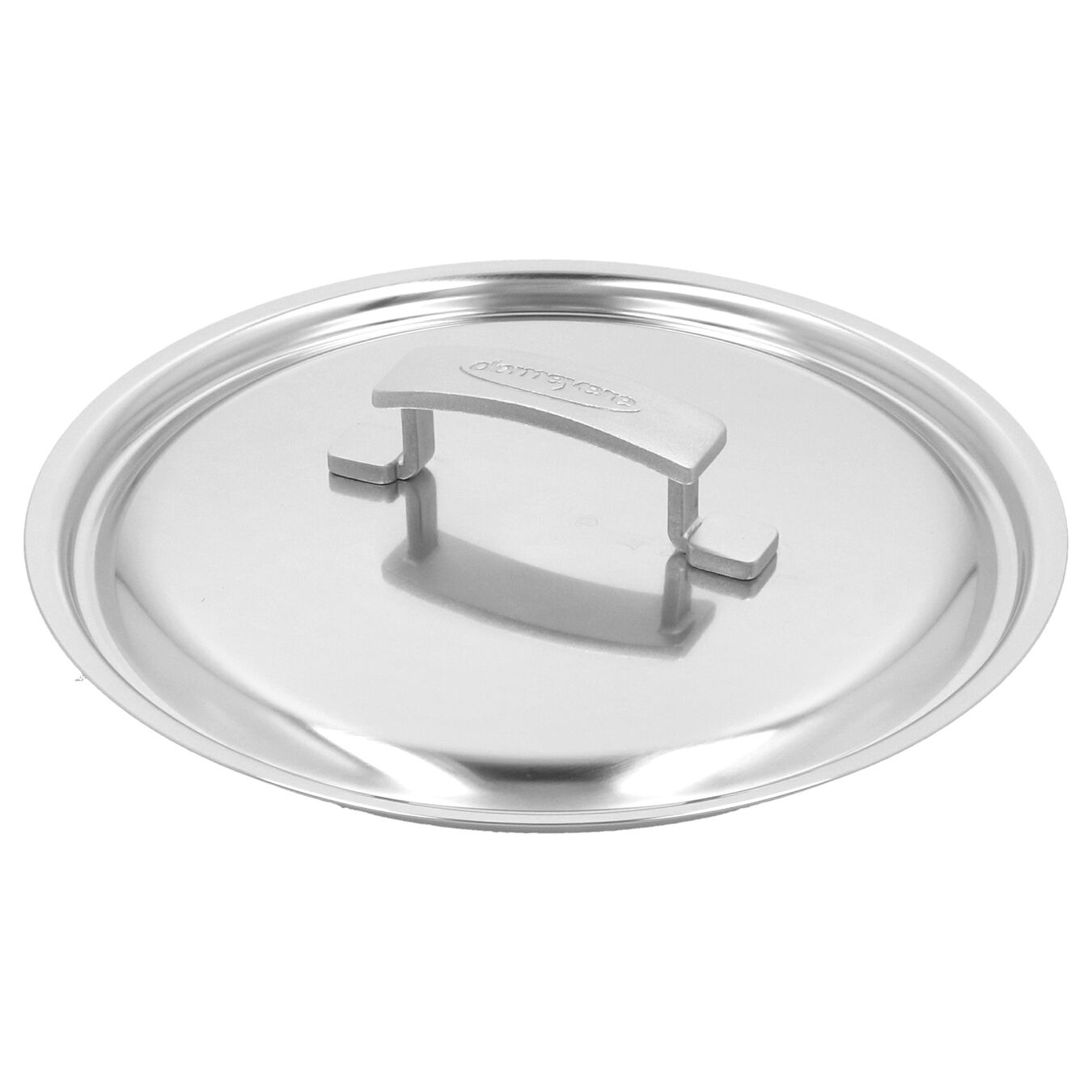 9.5-inch Saute pan with lid, 18/10 Stainless Steel ,,large 5