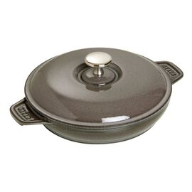 Staub Cast Iron, 8-inch Cast iron Oven dish with lid