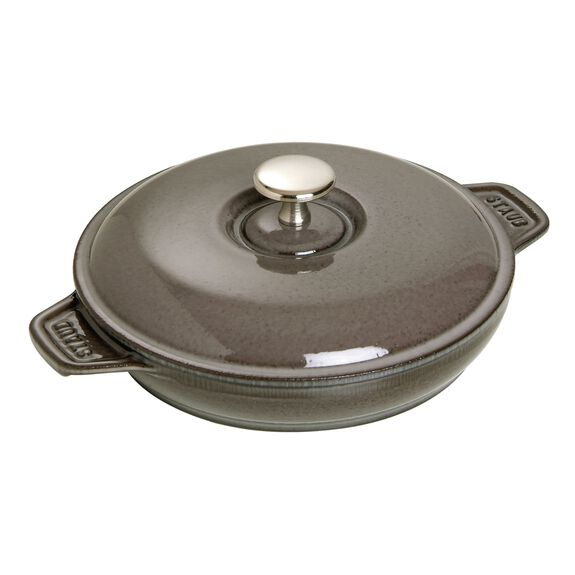 8-inch Cast iron Oven dish with lid,,large