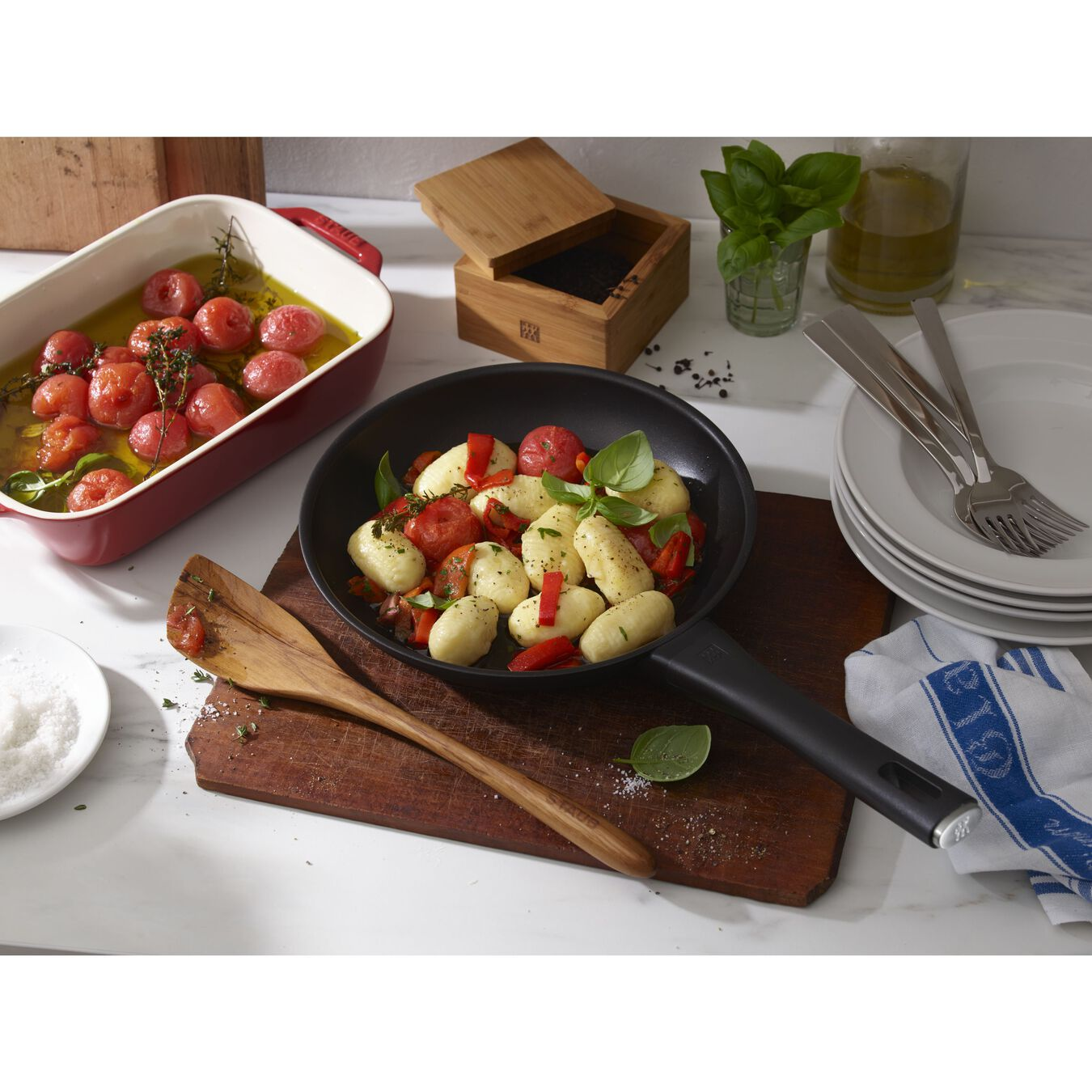 10-inch, Non-stick, Frying pan,,large 3