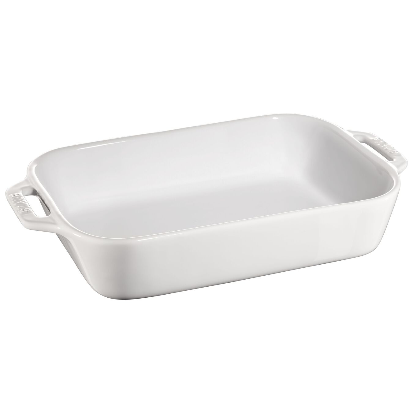 2-pc Rectangular Baking Dish Set - White,,large 2