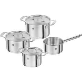 ZWILLING Base, Ensemble de casseroles 4-pcs, Inox 18/10