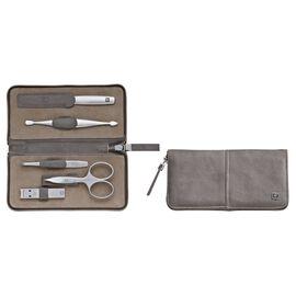 ZWILLING TWINOX, 5-Piece Calf leather Zip fastener case