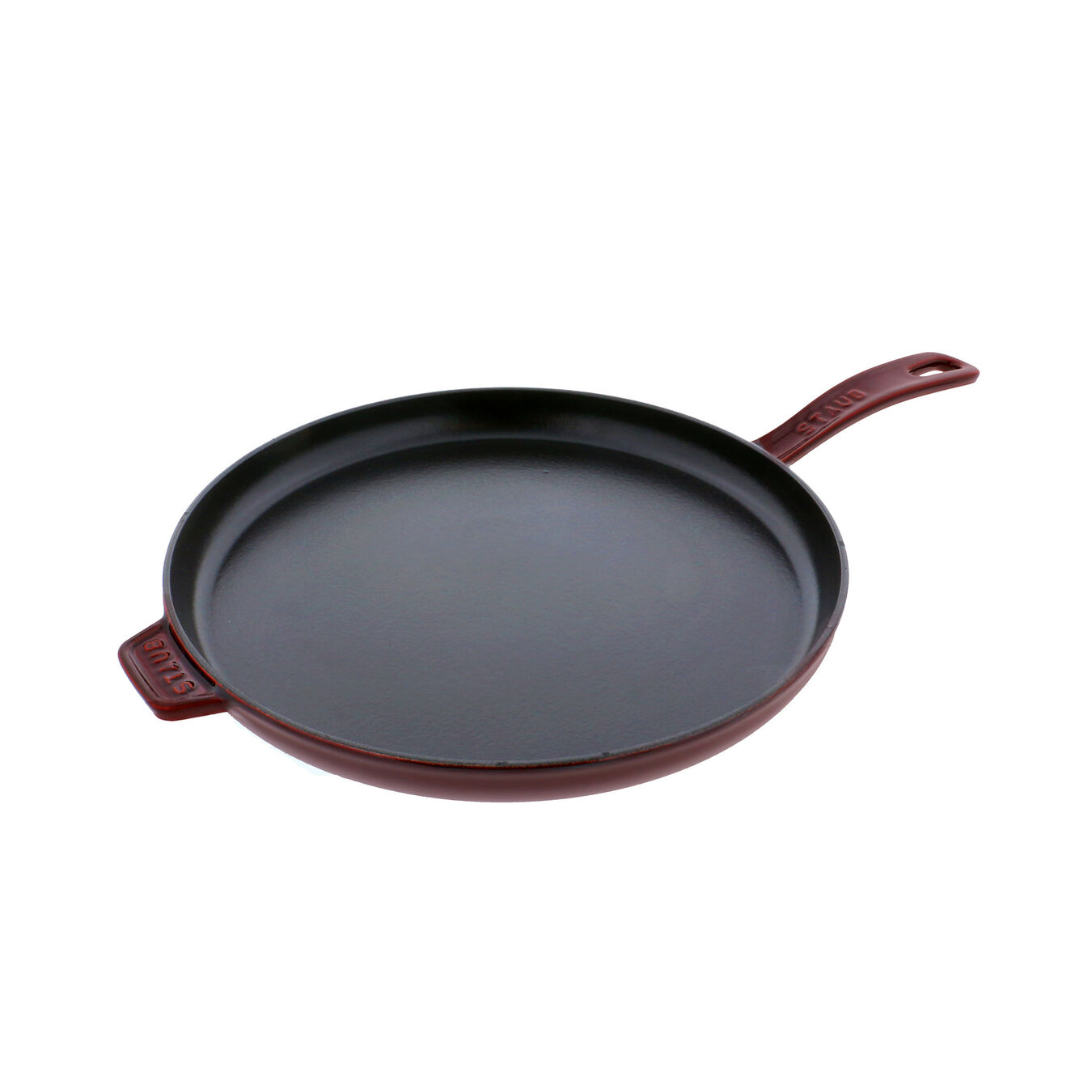12-inch Round Breakfast Pan - Visual Imperfections - Grenadine,,large 1