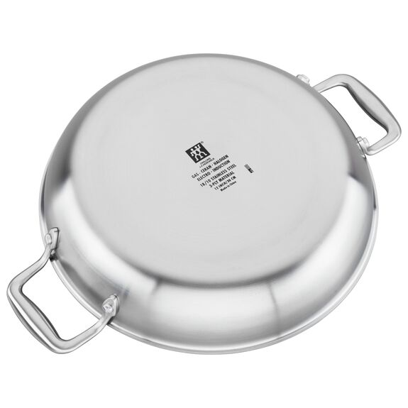 Ceramic Braiser with Glass Lid,,large 3