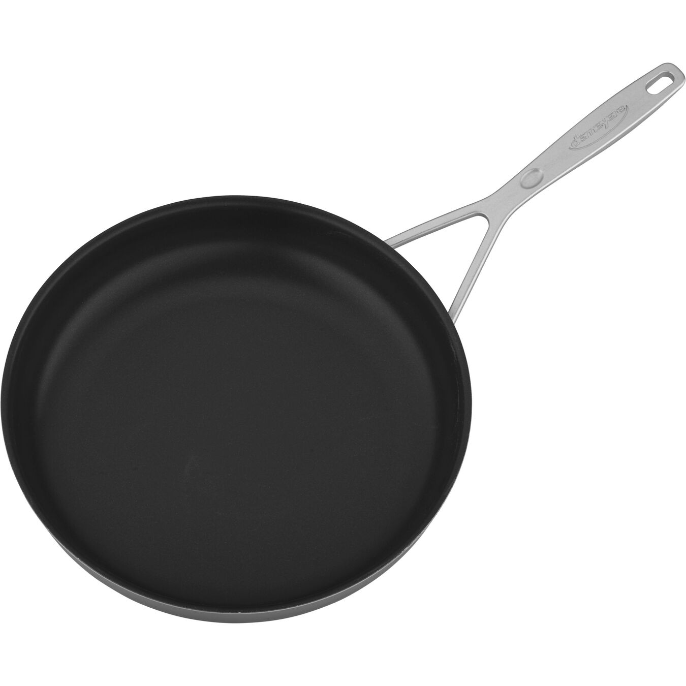 11-inch, 18/10 Stainless Steel, Non-stick, PTFE, Frying pan,,large 4