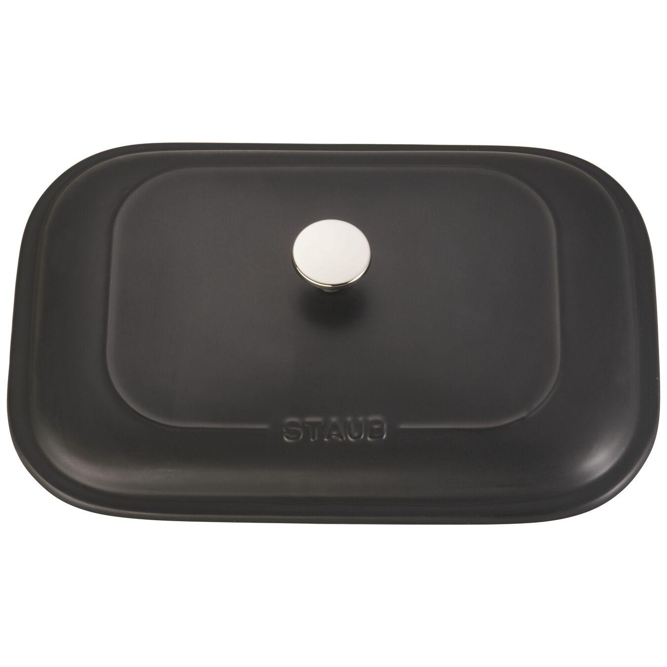 Ceramic rectangular Moules de forme spéciale, Black,,large 4