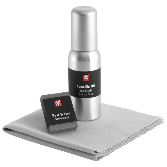 Carbon Steel Use & Care Kit,,large