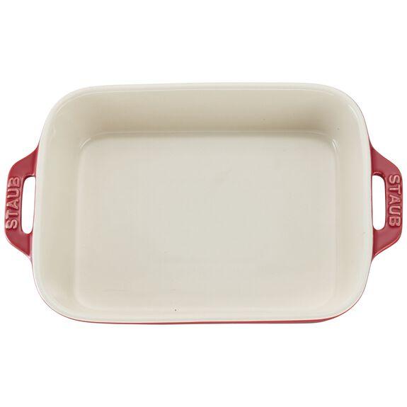 "7.5x6"" Rectangular Baking Dish, Cherry, , large 3"