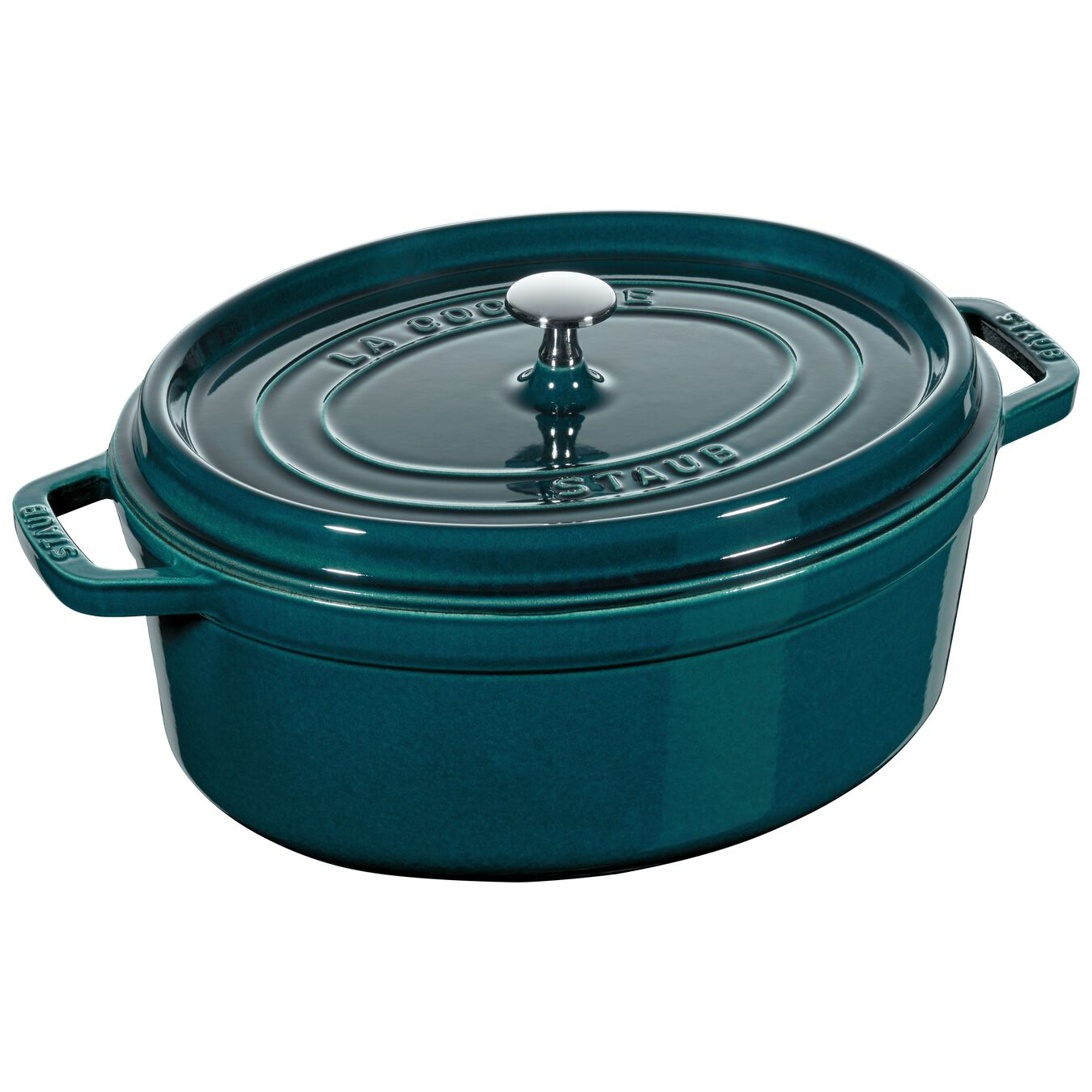 186-oz, oval, Cocotte, la mer - Visual Imperfections,,large 1