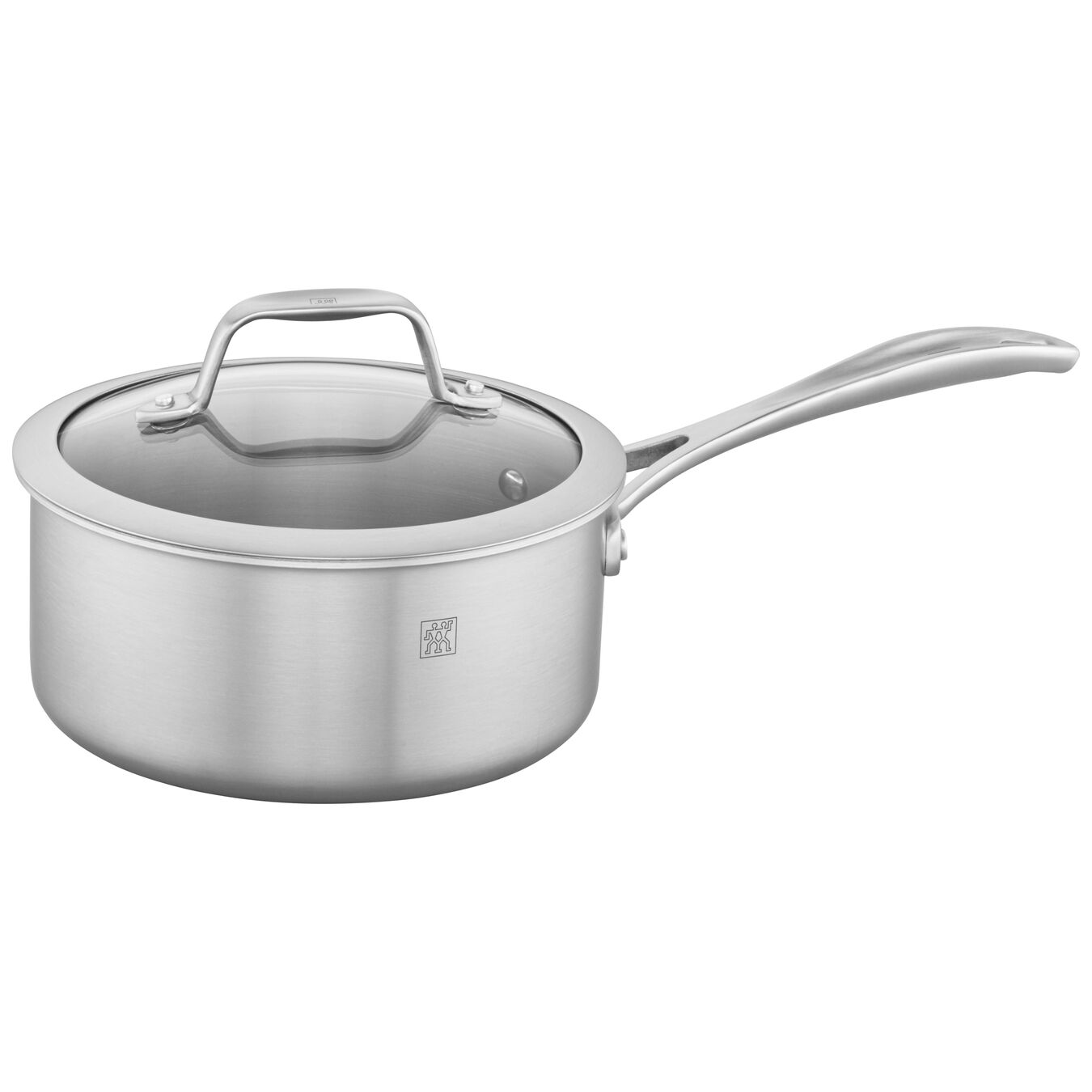 3-ply 2-qt Stainless Steel Saucepan,,large 1