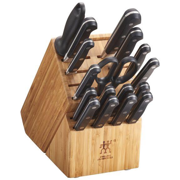 18-pc Knife block set ,,large 2
