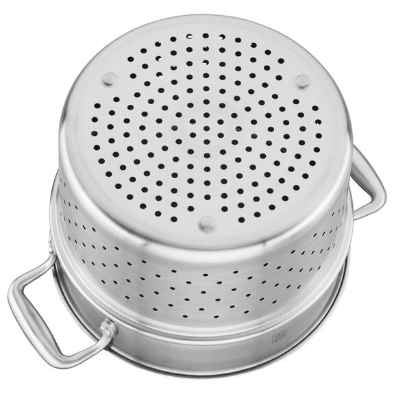 3-ply 6-qt Stainless Steel Pasta Insert (Fits 6-qt Dutch Oven),,large 4
