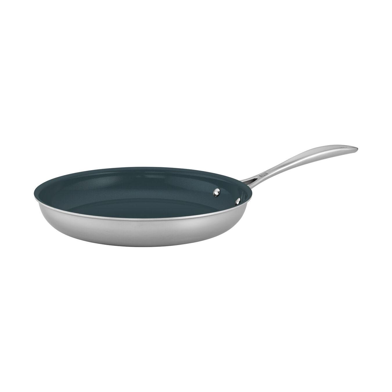 "10"" Stainless Steel Ceramic Nonstick Fry Pan,,large 1"